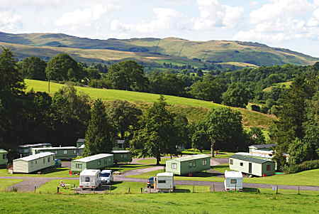 Cross Hall Caravan Park Cumbria Sedbergh