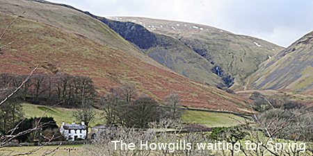 The Howgills at Cautley in February