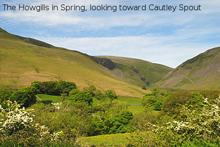 Howgills Cautley Cumbria near Cross Hall Farm