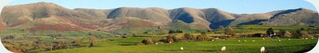 The Howgills from the West - Cumbria