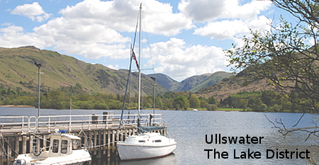 Ullswater Cumbria Lake District