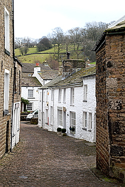 Dent Village Dentdale Yorkshire Dales Cumbria