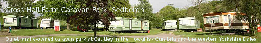 Cross Hall Farm Caravan Park header image