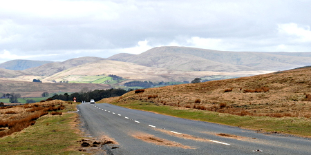 The Howgills between Kirkby Stephen and Sedbergh