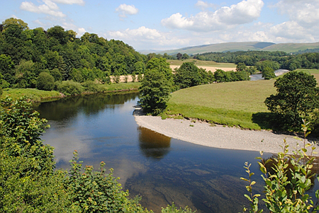 Ruskins View Kirkby Lonsdale Cumbria