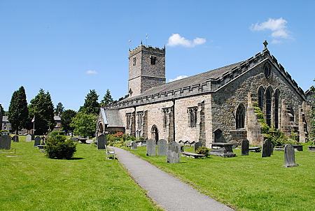 Parish Church Kirkby Lonsdale Cumbria