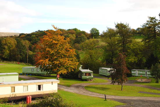 Static Caravan Park Cautley Cross Hall Sedbergh