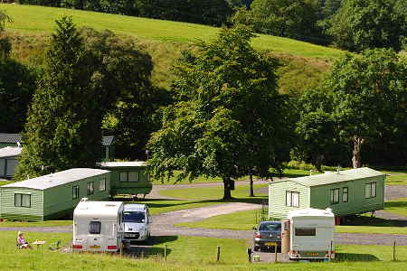 Our Caravan Park Cumbria Howgills