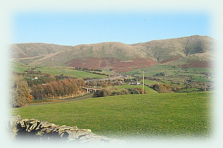 The Howgills from the West